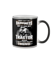 MONEY CAN'T BUY HAPPINESS BUT IT CAN BUY TRACTOR Color Changing Mug thumbnail