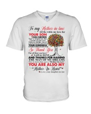 To My Mother-in-law V-Neck T-Shirt thumbnail
