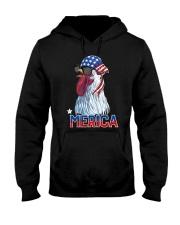 CHICKEN MERICA COOL Hooded Sweatshirt thumbnail