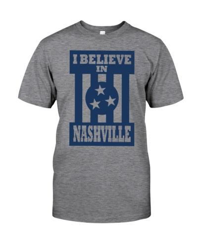 i believe in nashville shirt
