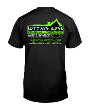 Cutting Edge Construction tee shirts and hoodies Classic T-Shirt back