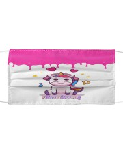 NaomiStrong Cloth face mask front