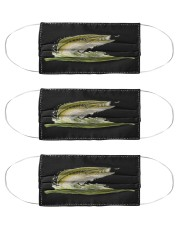 Green Bass - Love Fishing Cloth Face Mask - 3 Pack front