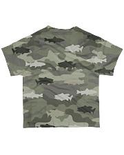 Fishing Camo Over Full - Love Fishing All-over T-Shirt back