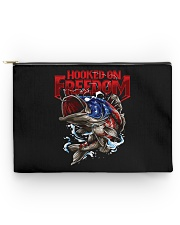 Hooked On Freedom - Love Fishing Accessory Pouch tile