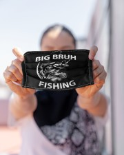Big Bruh Fishing - Love Fishing Cloth Face Mask - 3 Pack aos-face-mask-lifestyle-07