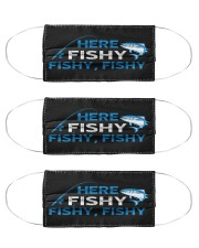 Here Fishy Fishy Fishy - Love Fishing Cloth Face Mask - 3 Pack front
