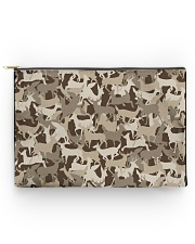 Silhouette Deer Camo - Love Fishing Accessory Pouch - Large thumbnail