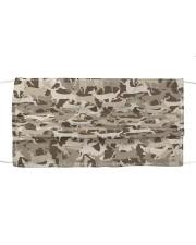 Silhouette Deer Camo - Love Fishing Mask tile