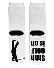 Shhh Golf Is On - Love Golf Crew Length Socks back