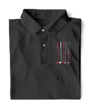American Flag Golf - Golf Lover  Classic Polo front
