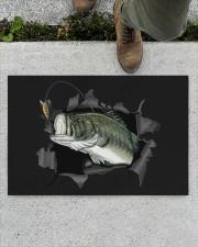 "Bass Fish Inside Doormat 22.5"" x 15""  aos-doormat-22-5x15-lifestyle-front-01"