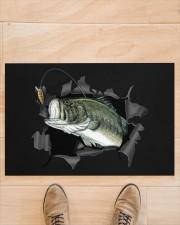 "Bass Fish Inside Doormat 22.5"" x 15""  aos-doormat-22-5x15-lifestyle-front-02"