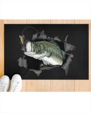 "Bass Fish Inside Doormat 22.5"" x 15""  aos-doormat-22-5x15-lifestyle-front-03"