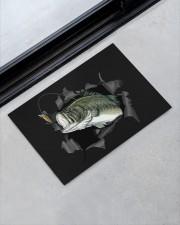 "Bass Fish Inside Doormat 22.5"" x 15""  aos-doormat-22-5x15-lifestyle-front-09"