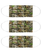 Realtree Camo - Love Fishing Cloth Face Mask - 3 Pack front