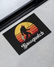 """Bassquatch Doormat Doormat 22.5"""" x 15""""  aos-doormat-22-5x15-lifestyle-front-09"""