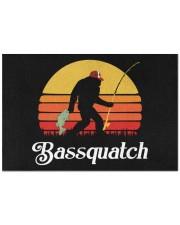 """Bassquatch Doormat Doormat 22.5"""" x 15""""  front"""