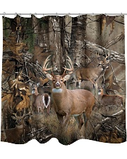 Hunting Camo Shower Curtain tile