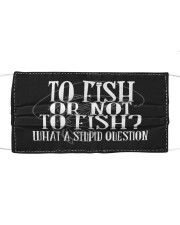 To Fish Or Not To Fish - Love Fishing Mask tile