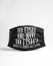 To Fish Or Not To Fish - Love Fishing Cloth Face Mask - 3 Pack aos-face-mask-lifestyle-22