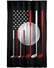 American Flag Golf - Love Golf Window Curtain tile