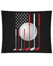 American Flag Golf - Love Golf Wall Tapestry tile