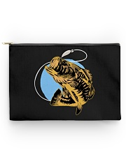 Black Bass Fish - Love Fishing Accessory Pouch tile