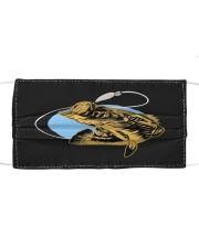 Black Bass Fish - Love Fishing Mask tile