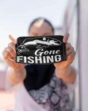Gone Fishing Cloth Face Mask - 3 Pack aos-face-mask-lifestyle-07