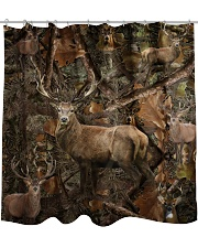 Hunting Camo - Love Hunting Shower Curtain tile