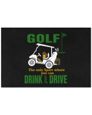 "Where You Can Drink And Drive - Love Golf Doormat 22.5"" x 15""  front"
