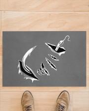 "Fishing Hook Inside - Love Fishing Doormat 22.5"" x 15""  aos-doormat-22-5x15-lifestyle-front-02"