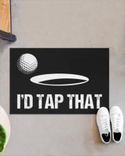 "I'd Tap That - Love Golf Doormat 22.5"" x 15""  aos-doormat-22-5x15-lifestyle-front-07"