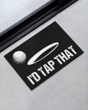 "I'd Tap That - Love Golf Doormat 22.5"" x 15""  aos-doormat-22-5x15-lifestyle-front-09"