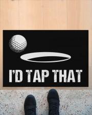 "I'd Tap That - Love Golf Doormat 22.5"" x 15""  aos-doormat-22-5x15-lifestyle-front-10"