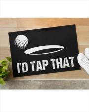"I'd Tap That - Love Golf Doormat 22.5"" x 15""  aos-doormat-22-5x15-lifestyle-front-11"