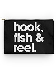 Fish Hook And Reel - Love Fishing Accessory Pouch tile