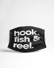 Fish Hook And Reel - Love Fishing Cloth Face Mask - 3 Pack aos-face-mask-lifestyle-22