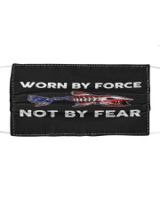 Worn By Force - Not By Fear - Love Fishing Mask tile