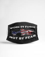 Worn By Force - Not By Fear - Love Fishing Cloth Face Mask - 3 Pack aos-face-mask-lifestyle-22