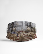Hunting Deer Buck - Love Hunting Cloth Face Mask - 3 Pack aos-face-mask-lifestyle-22