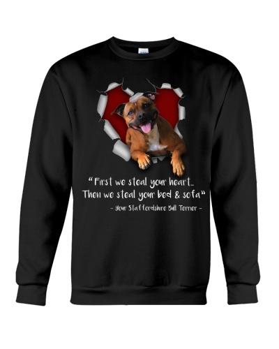 Staffordshire Bull Terrier - Heart