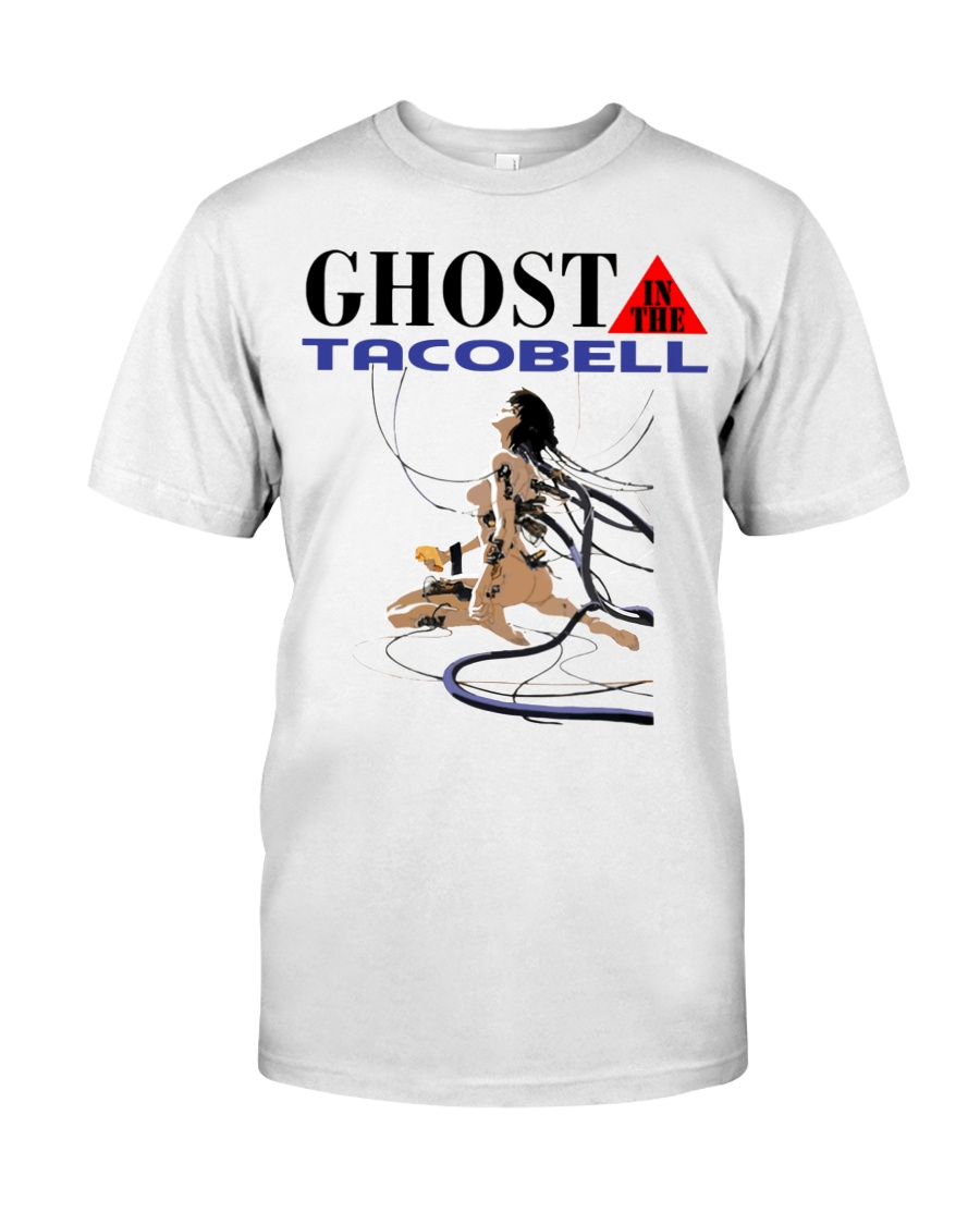 GHOST IN THE TACOBELL SHIRT Classic T-Shirt