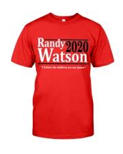 Randy Watson 2020 shirt Classic T-Shirt front