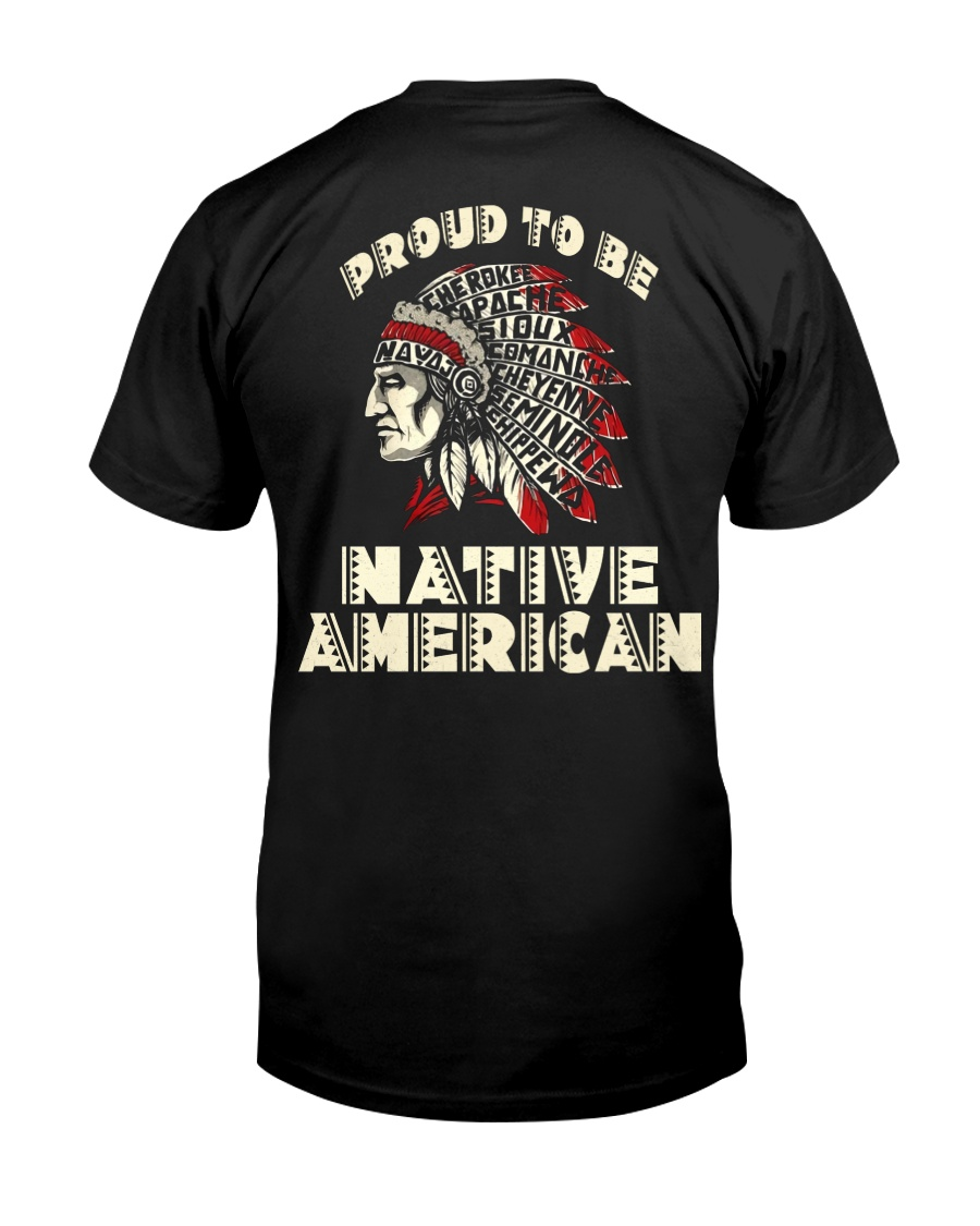 Proud to be Native American Classic T-Shirt
