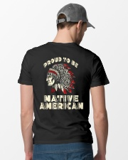 Proud to be Native American Classic T-Shirt lifestyle-mens-crewneck-back-6