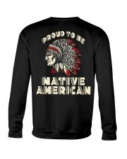 Proud to be Native American Crewneck Sweatshirt thumbnail