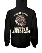 Proud to be Native American Hooded Sweatshirt thumbnail