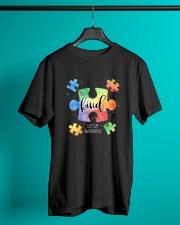 Be Kind Puzzle Pieces Cute Autism Awareness Classic T-Shirt lifestyle-mens-crewneck-front-3